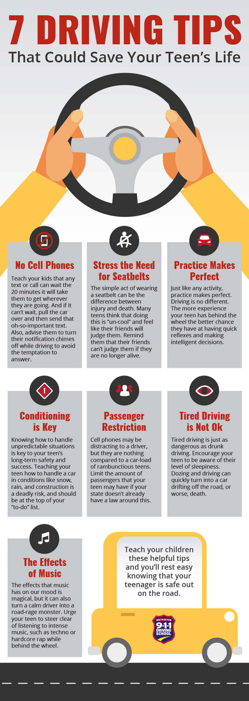 Driving Tips for teens