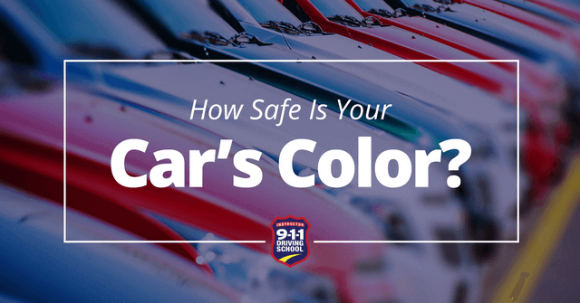 how safe is your car's color?
