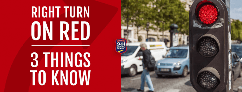 Right Turn on Red 3 Things to Know   911 Driving School